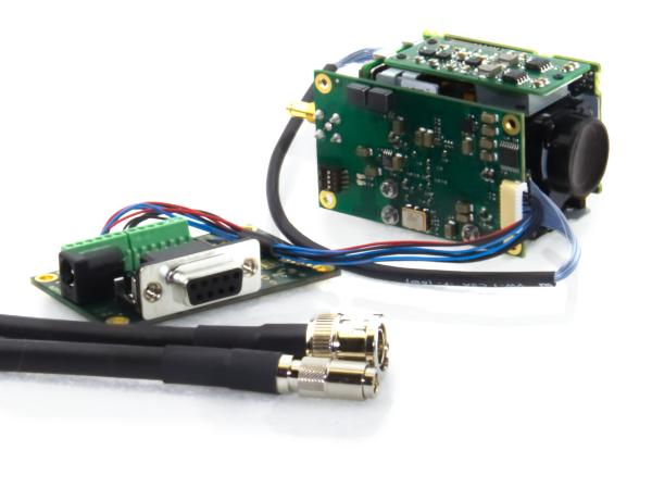 TL8651 3G/HD-SDI Evaluation Kit with Tamron MP1010M-VC